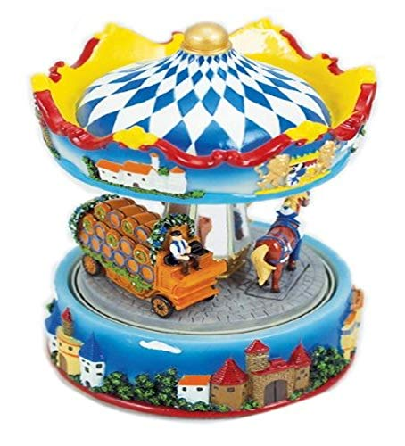Musicbox World 1 pièce Design ourson Carrousel transport