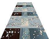 XZPENG Alfombra de alfombra antideslizante Corredor de alfombras Alfombras de pila corta, para pasillo, pasillo, cocina, sala de estar, 60 cm / 70 cm / 80cm / 90cm / 110cm / 120cm Moda, creatividad, c