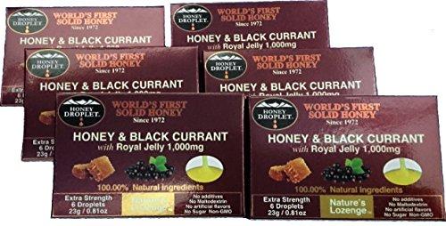ハニードロップレットブラックカラント&ロイヤルセリー 6箱