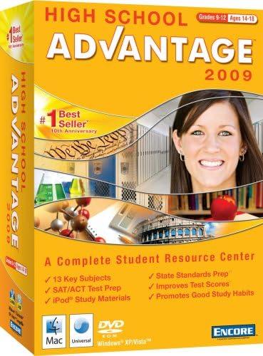 Max 66% OFF High School Max 60% OFF Advantage VERSION OLD 2009