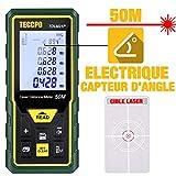 Télémètre laser 50M, Mesure laser TECCPO, Capteur Électronique Angulaire,...