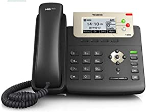 Yealink T23G IP Phone, 3 Lines. 2.8-Inch Graphical LCD. Dual-Port 10/100 Ethernet, 802.3af PoE, Power Adapter Not Included... photo
