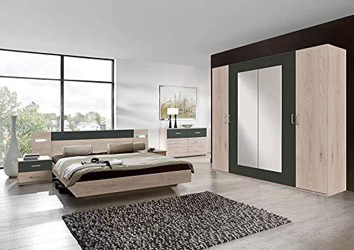 4 Moderne Möbel mit einer Drehtür Schränke, Betten und Nachttische, Schlafzimmer-Sets und Möbel,Multicolored
