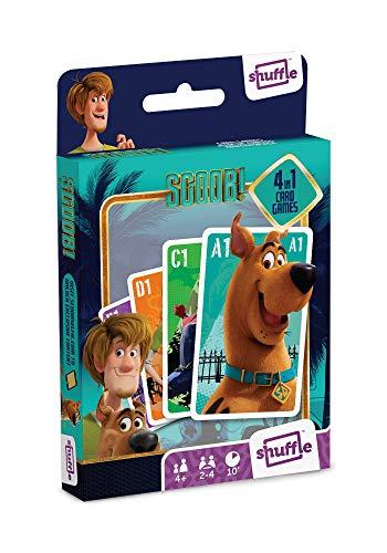 Shuffle Scooby Doo 4 en 1 Juegos de Cartas