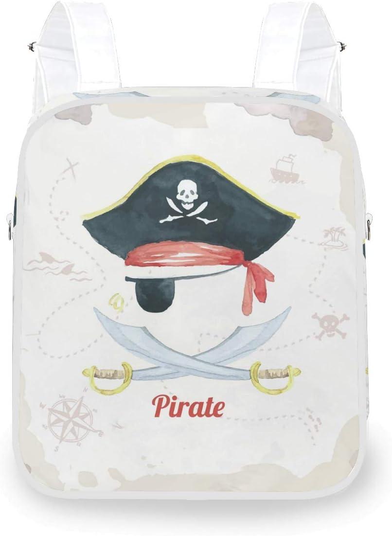 Shiiny Pirate Limited price sale Background Design Mini Women's Backpa Dual-Purpose 2021 new
