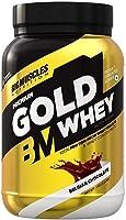 Bigmuscles Nutrition Premium Gold Whey 1Kg [Belgian Chocolate] | Whey Protein Isolate & Whey Protein Concentrate | 25g...