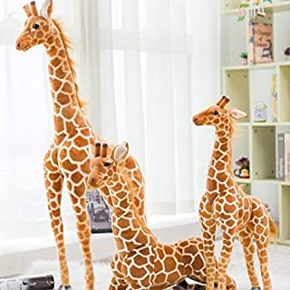 50-120 cm Creatieve leuke Giraffe Knuffels Leuke Knuffel Zachte Giraffe Pop Verjaardagscadeau Kinderen Speelgoed kerstcade...