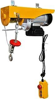 WinchPro - Polipasto Eléctrico 220V, Capacidad de 400/800Kg