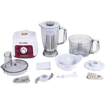Master Digital Robot de cocina multifunción Master FP809, 500 W ...