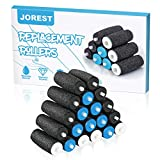 [20 Pcs] Electronic Foot File Refills, 8 Extra Coarse & 8 Regular & 4 Soft, JOREST Replacement Roller for Foot Scrubber Callus Remover, Ped Egg Powerball, Compatible with Amope Pedi Pefect