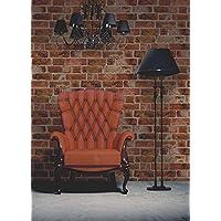Brewster FD31045 - Ladrillo Wallpaper - Orange