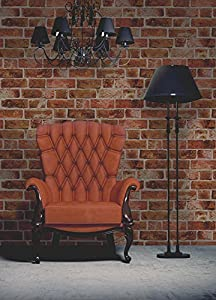Brewster FD31045 - Ladrillo Wallpaper - Orange