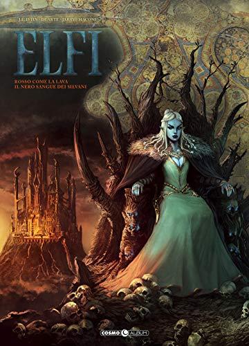 Elfi. Rosso come la lava-Il nero sangue dei silvani (Vol. 7)