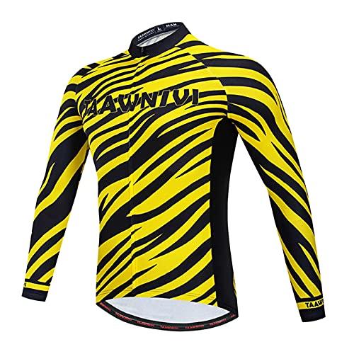 NAXIAOTIAO Ciclismo para Hombre Jersey De Manga Corta Ropa De Ciclismo, Pantalones Cortos De Ropa De Combinación De Bicicleta Transpirable Verano para Bicicleta De Carrera,A,XL