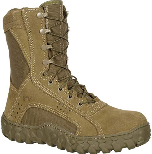 Rocky mens S2V Tactical Military Boot Coyote Brown 10.5 M US