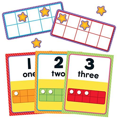 Carson Dellosa Numbers 0-20 Bulletin Board Set (110378)