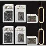 iPC <2個組>SIM アダプアタ4点セット ホワイト