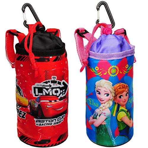 alles-meine.de GmbH universal - Schutzhülle für Trinkflasche / Fahrradtrinkflasche - Jungen Motiv - Hülle mit Halterung - Fahrradflasche Fahrrad Wasserflasche Trinklernflasche - ..