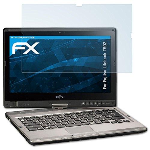 atFolix Schutzfolie kompatibel mit Fujitsu Lifebook T902 Folie, ultraklare FX Bildschirmschutzfolie (2X)