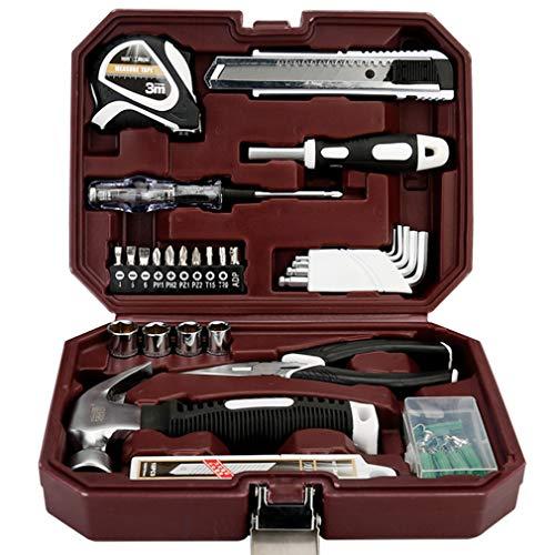 Werkzeugkoffer Fuer Haushalt, 66-teilig - Werkzeug-Set - Werkzeug Für Den Täglichen Gebrauch/Werkzeugset/Werkzeugbox Komplett Mit Werkzeug/Werkzeug Komplett Set