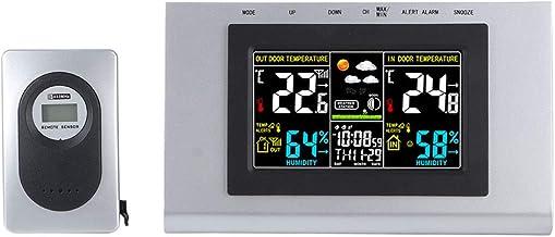 CHENGGONG Termómetro Digital Higrómetro, Higrómetro Digital Termómetro higrómetro no tóxico más Claro, para habitación de bebé, Dormitorio