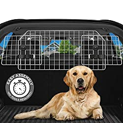 Adjustable Tube Headrest Dog Guard Barrier For NISSAN NOTE ALL YEARS