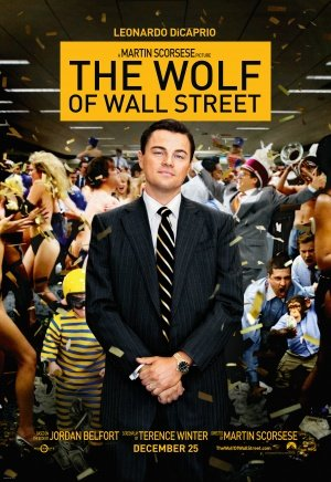 Póster de la película El lobo de Wall Street, impresión de 30x 43cm, Leonardo DiCaprio