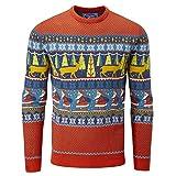 charles wilson maglione natalizio originale (x-small, santa i (1019))