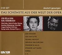 Don Giovanni/Così fan tutte/Figaros Hochzeit/Orpheus und Eurydike/Norma/Julius Caesar/Der Barbier von Sevilla