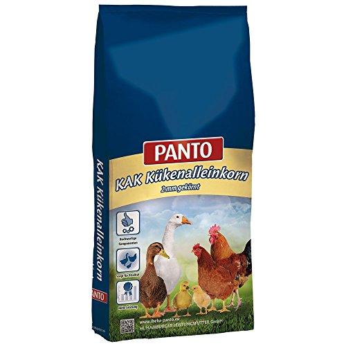 Panto Geflügelfutter, KAK Kückenalleinkorn (2 mm gekörnt) 25 kg, 1er Pack (1 x 25 kg)