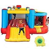Best Bounce Houses - JOYMOR Bounce House Inflatable Jumping Castle Slide Bouncer Review