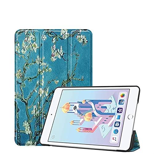 Skhawen For iPad Mini 4 5, 2019, Stand de Silicona Funda de Cuero PU Funda Auto Sleep Funda for iPad Mini 1 2 3 (Color : iPad Mini 4 5 MH)
