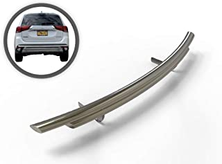 VANGUARD VGRBG-1018-0837SS Multi-fit Rear Bumper Guard Stainless Steel Double Layer Style