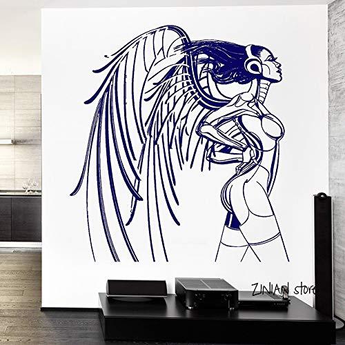 yaonuli Las Etiquetas de la Pared de la niña cibernética decoran la habitación para el Fondo de Pantalla de la habitación del Adolescente 127X154cm
