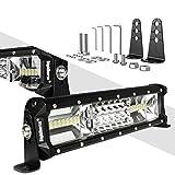LED Light Bar Rigidhorse Triple Row 12 Inch 108W...