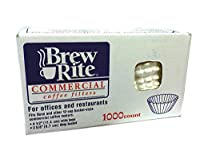 Brew Rite Coffee Filter, 1000 Count by Brew Rite
