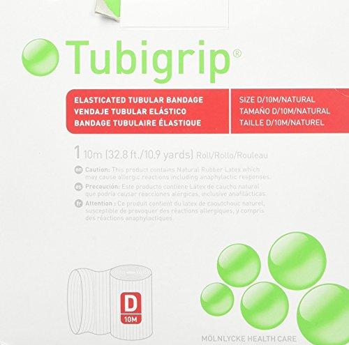Vendaje Tubular Tubigrip Tamaño D, 10m caja (2unidades)
