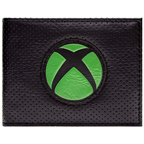 Xbox Logo ID and Card Bi-Fold Wallet Black