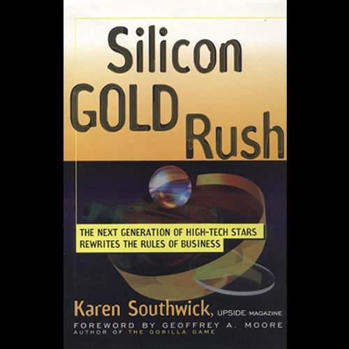 Silicon Gold Rush audiobook cover art