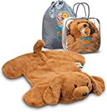 FRIENDLY CUDDLE Weighted Lap Pad for Kids 5 lbs. - Sensory Weighted Stuffed Animals - Lap Blanket for Toddlers Kids Adults with Sensory Processing Disorder - Perfect for Classroom Travel Home Office