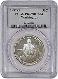1982 S George Washington Half Dollar Commemorative 50c PR69DCAM PCGS