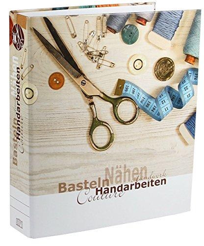 SAFE 4010 DIN A4 Ringbinder Ordner für Handarbeiten oder Bastelanleitungen,Schnittmuster, Strickmuster, usw.