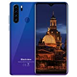 Teléfono Móvil,Blackview A80Plus Smartphone Android 10 Móvil Libre,4GB+64GB,6.49' HD+ Water-Drop Screen,4680mAh,13MP+8MP,Dual SIM/NFC/GPS/Face ID