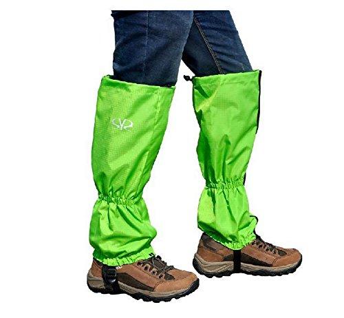 Blancho Guêtres Chaussures de Ski Escalade Neige Guêtres Boot Housses Multiples Guêtres utilisé Vert
