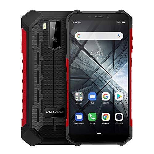 Laifeng Armor X3 Rugged Phone, 2GB + 32GB, IP68 a prueba de agua a prueba de polvo, 5.5 pulgadas Android 9.0 MT6580 Quad Core de 32 bits hasta 1.3GHz, batería de 5000mAh, cámaras traseras dobles y des