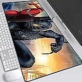 Jeu tapis de souris Grand tapis de souris Spider Man Comic Book Superhero Clavier Mat Tapis de souris for ordinateur portable étendu ordinateur de bureau Souris PC Pad (Color : E, Size : 800X300)