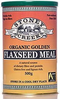 Stoney Creek Organic Golden Flaxseed Meal 500 g