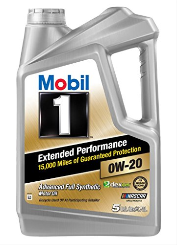 Mobil 1 (120903 Extended Performance 0W-20 Motor Oil - 5 Quart
