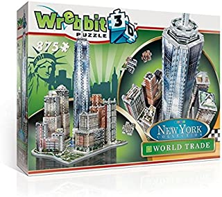 WREBBIT 3D New York Collection World Trade Puzzle (875 Piece)