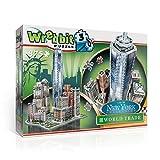 Wrebbit 3D 0665541020124 - Puzzle 3D, Tema: Comercio Mundial - Colección Nueva York